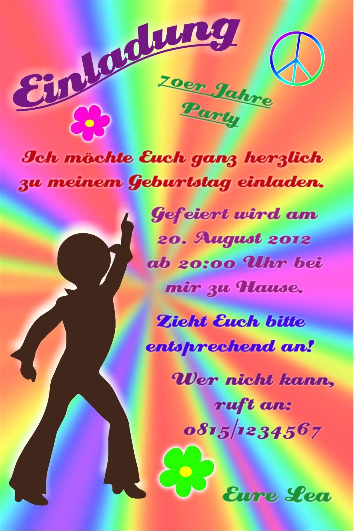 Einladung Zum Geburtstag : Einladung Zum Geburtstag Text - Geburstag Einladungskarten ...