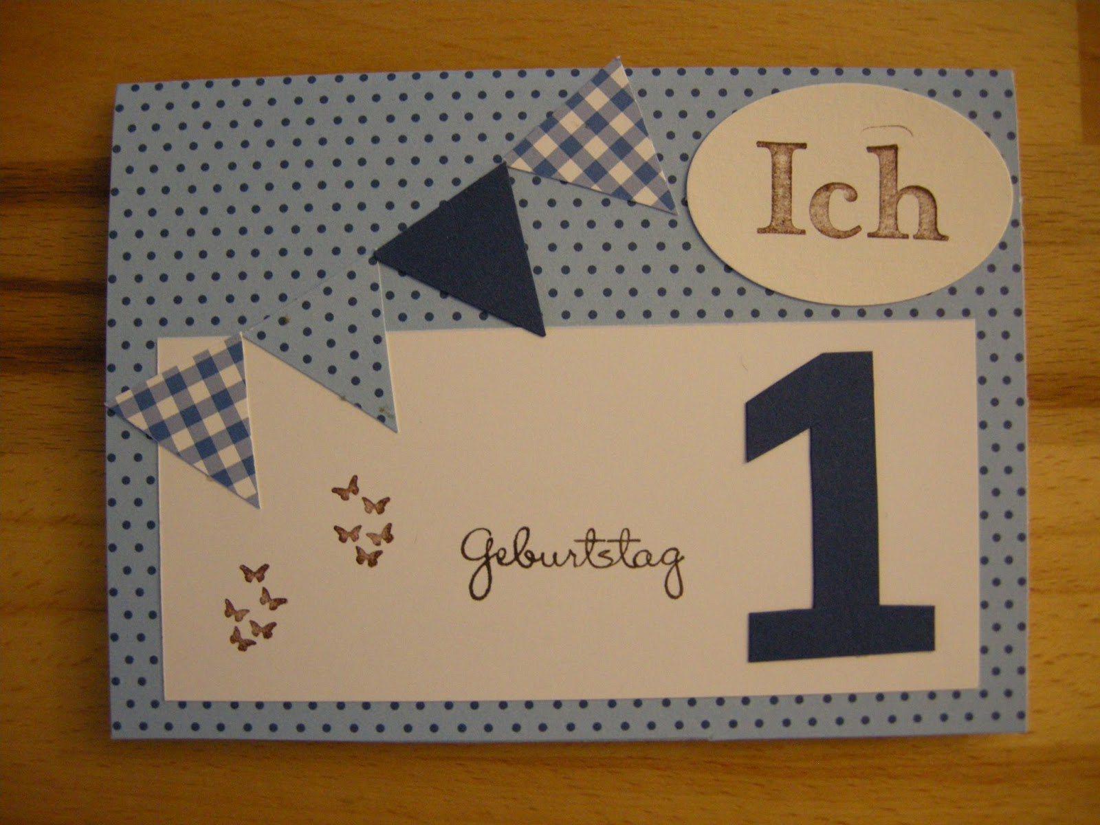 Einladung 1 Geburtstag Einladung 1 Geburtstag Basteln Junge