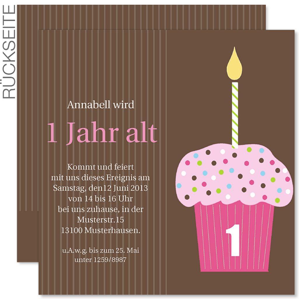 1 Geburtstag