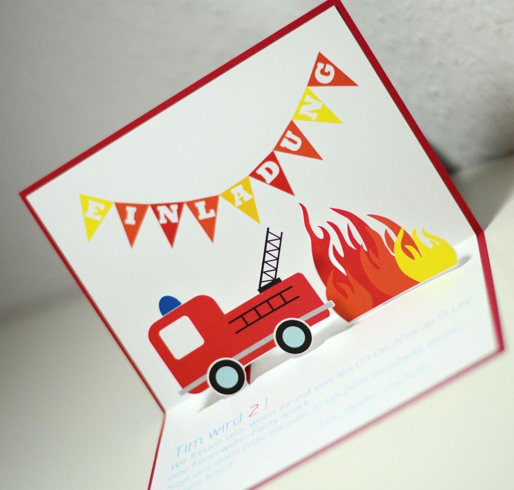 Einladungskarten Geburtstag Selber Basteln
