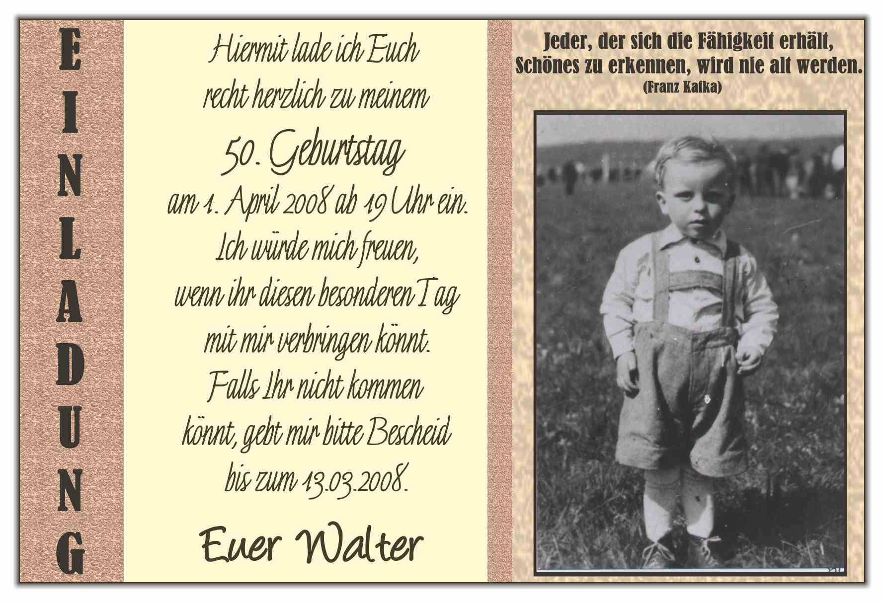 More Article From 50 Geburtstag Einladung