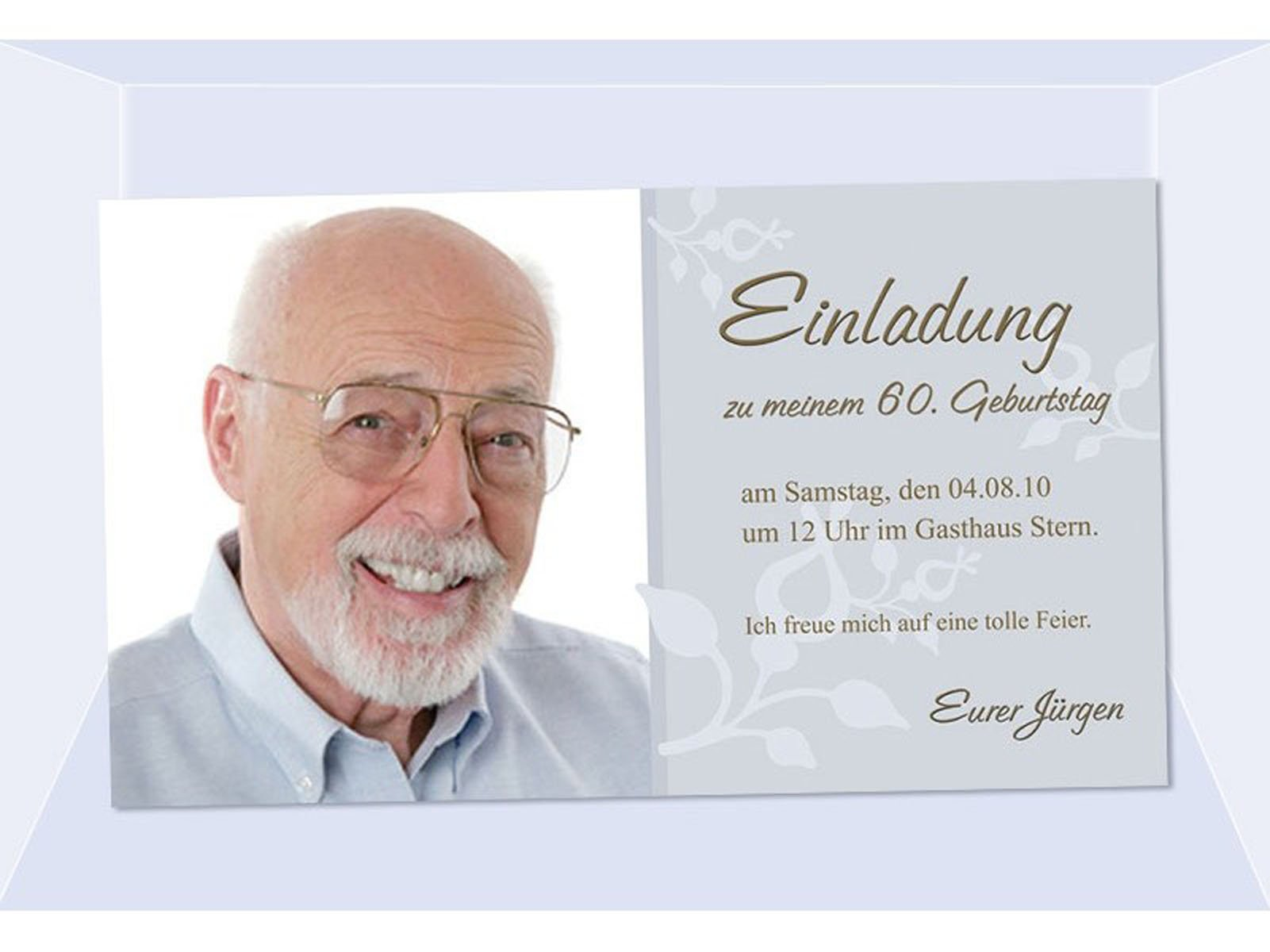 Einladung Zum 60 Geburtstag : Einladung Zum 60 Geburtstag Vorlagen,  Einladung. Einladungen Drucken Kostenlos ...