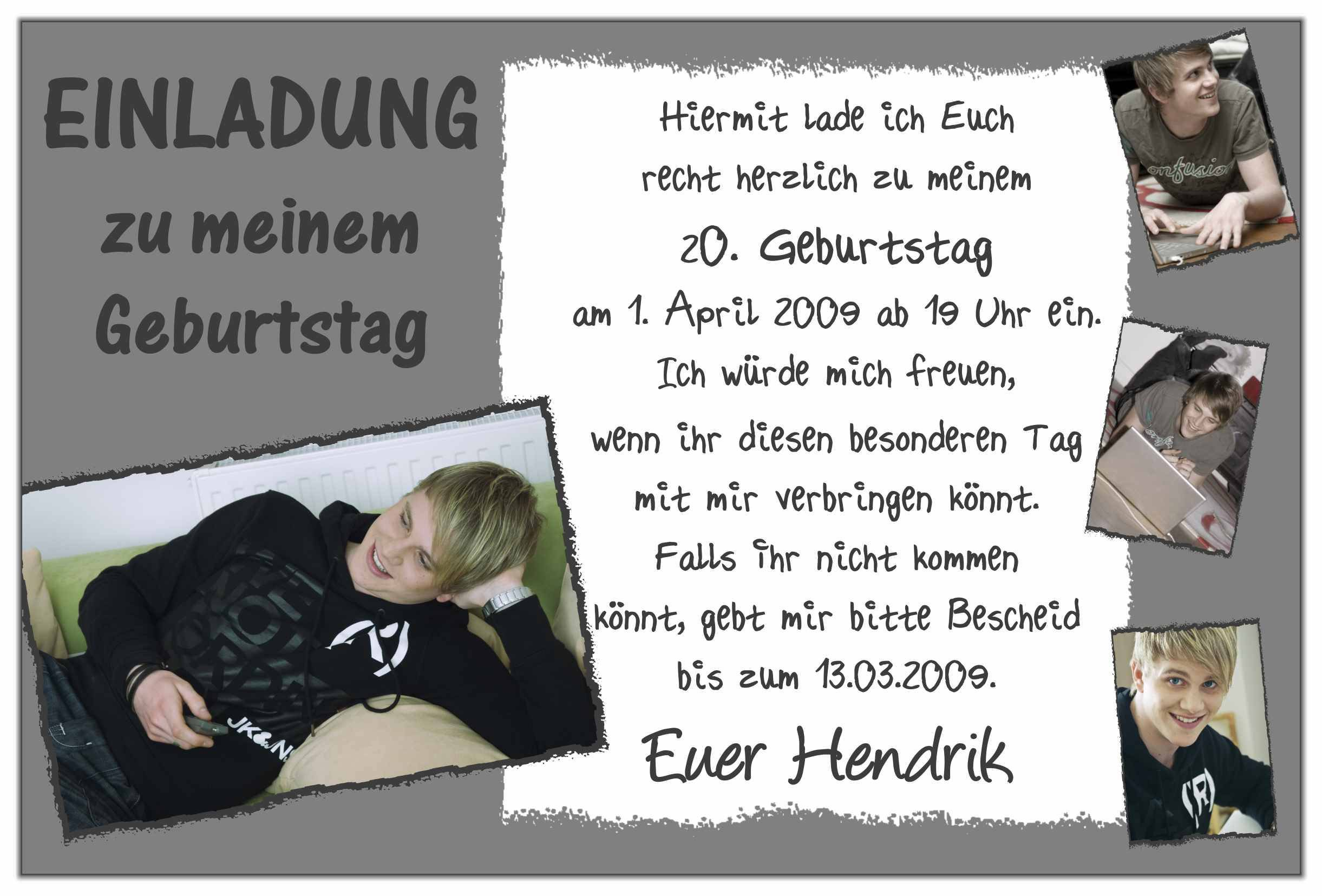 Related Image For Einladungen Zum Geburtstag Selber Schreiben