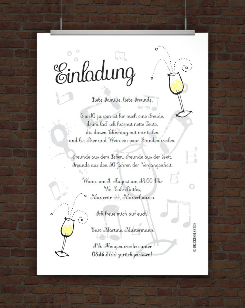 Related Image For Einladung 70 Geburtstag Text