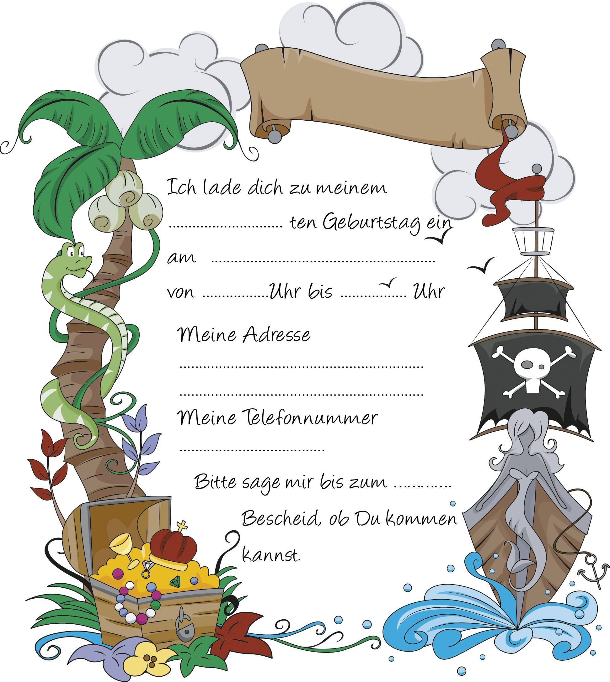 Related Image For Einladung Kindergeburtstag Text 1. Geburtstag