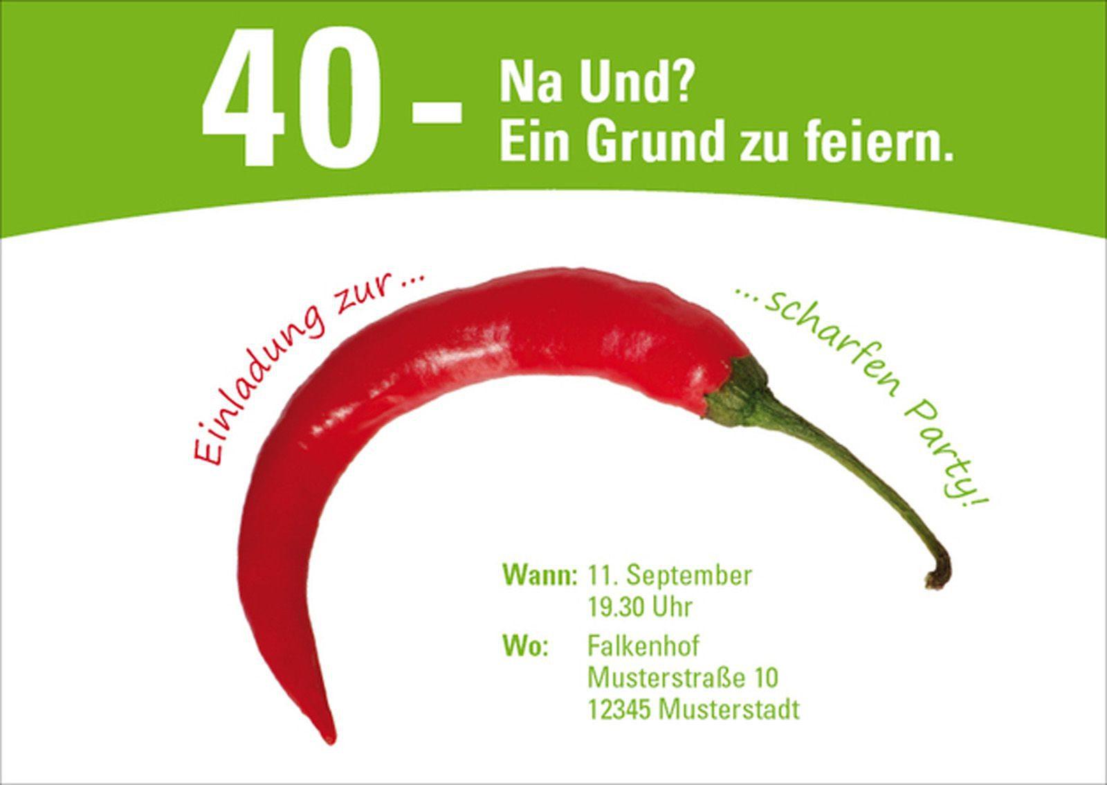 More Article From Einladung Zum 40 Geburtstag