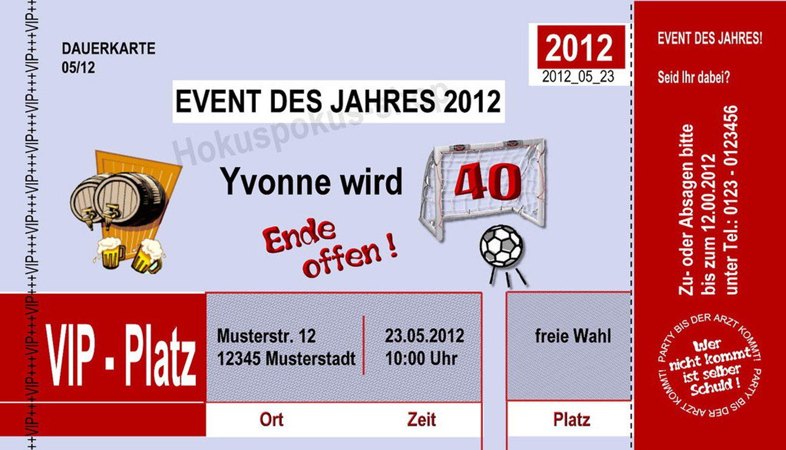 Related Image For Einladung Zum 40 Geburtstag Kostenlos Download