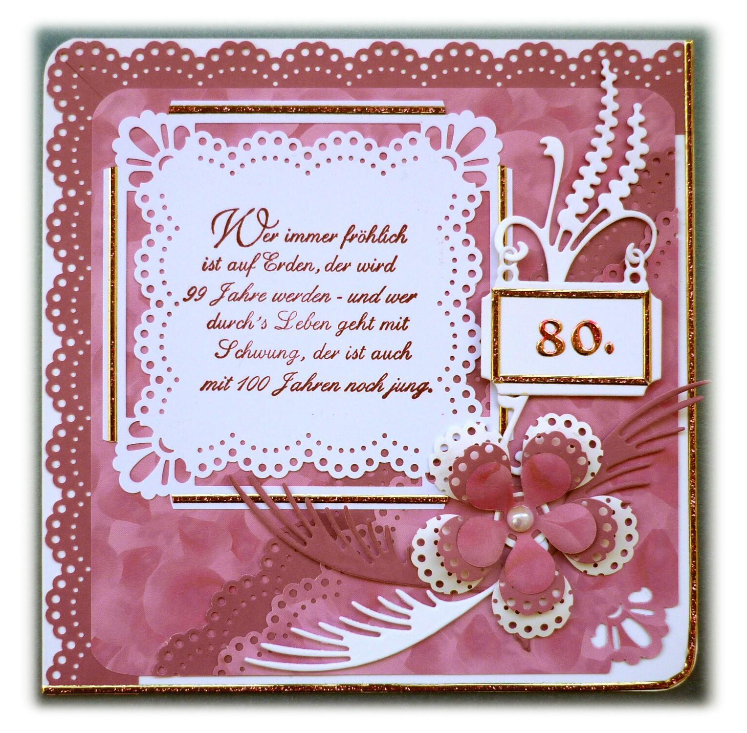 einladung zum 80 geburtstag : einladung zum 80. geburtstag, Einladung