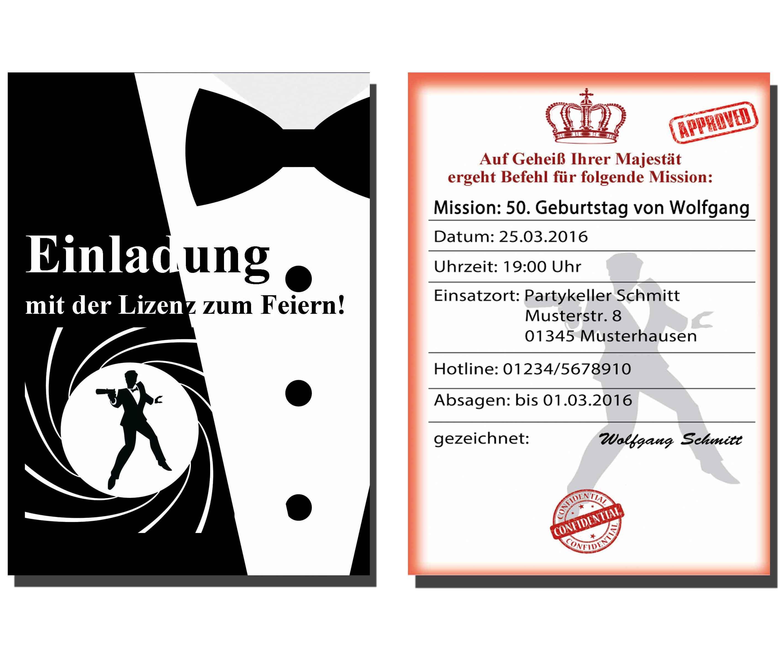 Einladungen Zum 50 Geburtstag : Einladungen Zum 50. Geburtstag ...