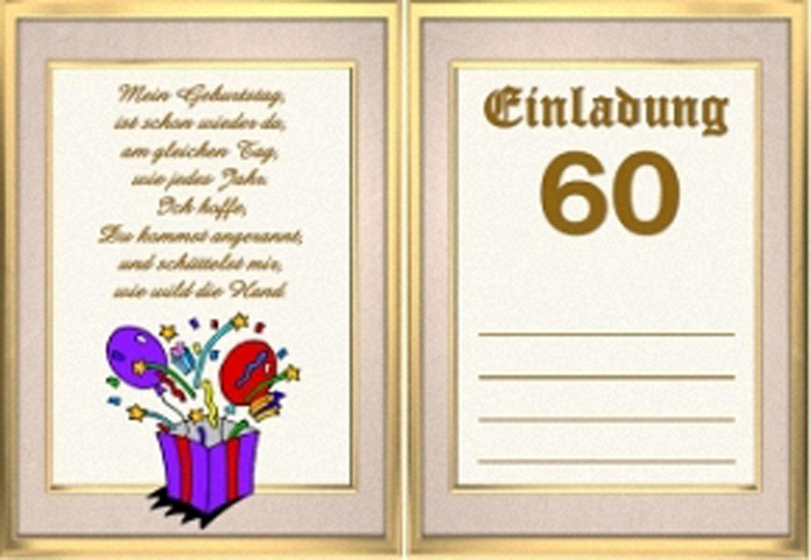 einladungen zum 60 geburtstag einladungen zum 60 geburtstag selber basteln geburstag. Black Bedroom Furniture Sets. Home Design Ideas