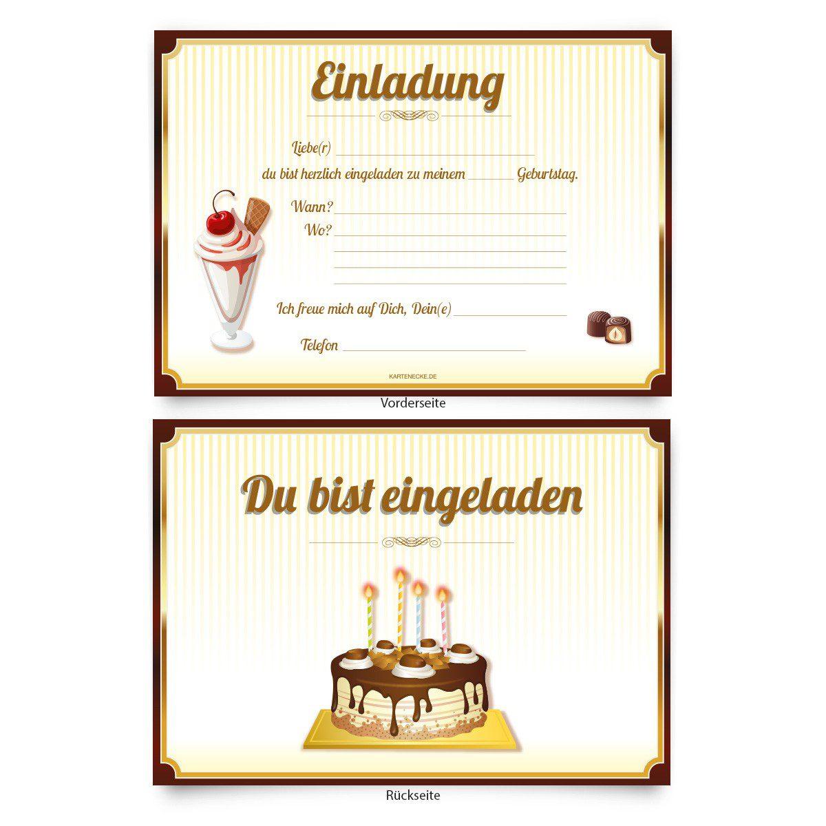 Fesselnd Einladungskarten 30 Geburtstag Online Bestellen