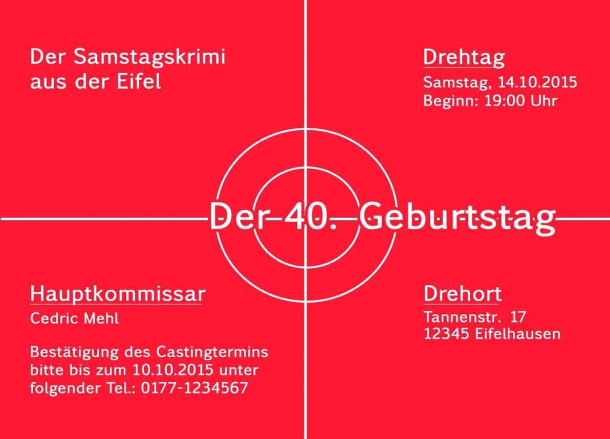 Lustige Einladungskarten Zum 40 Geburtstag – pixelwarfare.info