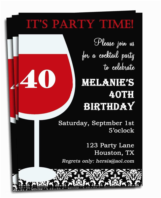 Einladungskarten 40 Geburtstag Witzig Einladung Zum 40