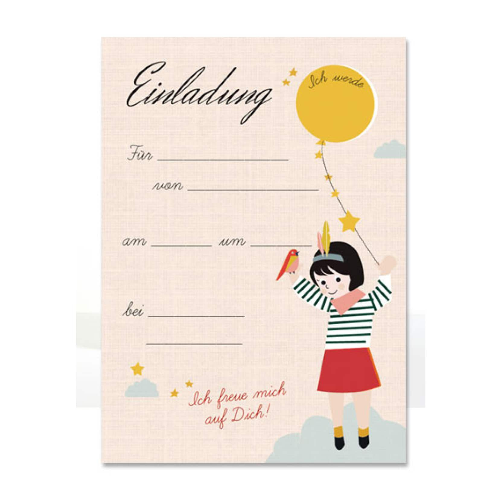 Geburtstag Einladungskarten